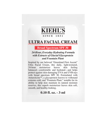 Ultra Facial Cream SPF 30 vzorek