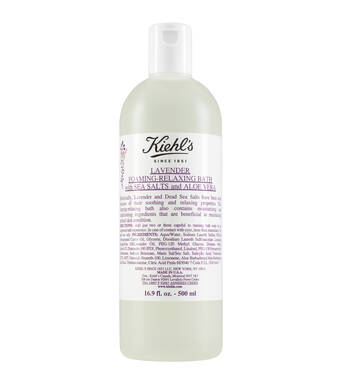 Lavender Foaming-Relaxing Bath With Sea Salts and Aloe Vera