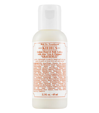 "DELUXE HAND & BODY LOTION WITH ALOE VERA & OATMEAL ""GRAPEFRUIT"""