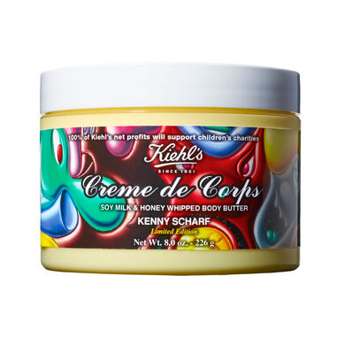 Limited Edition Kenny Scharf Creme de Corps Soy Milk & Honey Whipped Body Butter
