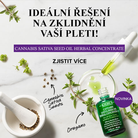 Cannabis Sativa Seed Oil Herbal Concentrate Kiehl´s