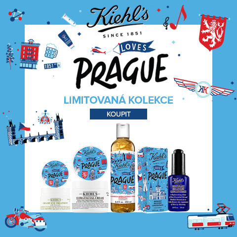 Kiehl´s loves Prague